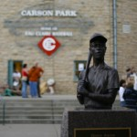 Statute of Hank Aaron in Carson Park