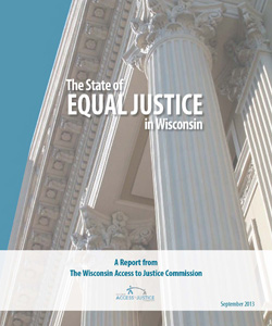 Report on the state or equal justice