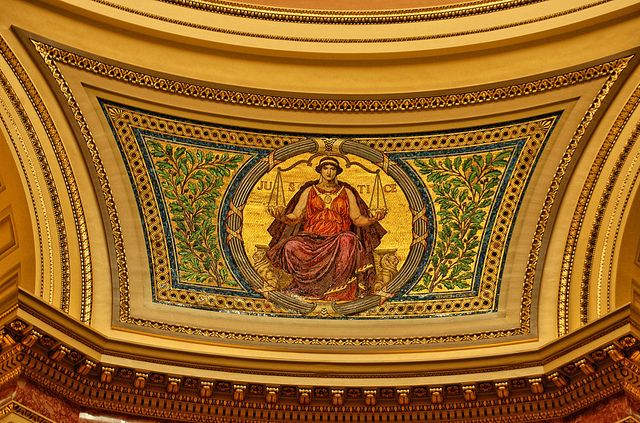 Justice Mosaic in Capitol