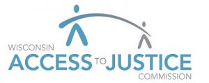 Logo for Wisconsin Access to Justice Commission